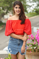 Rhea Chakraborty in Red Crop Top and Denim Shorts Spicy Pics ~  Exclusive 072.JPG