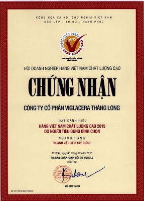 Viglacera Thăng Long HVNCLC