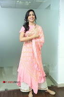 Actress Ritu Varma Pos in Beautiful Pink Anarkali Dress at at Keshava Movie Interview .COM 0170.JPG