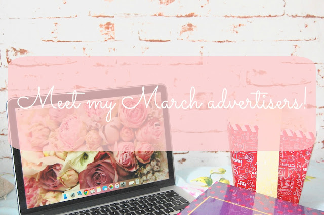 Read more to meet Marchs advertisers!