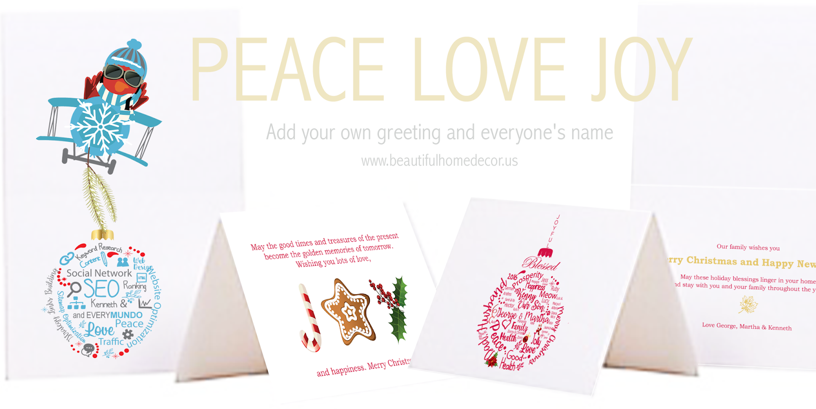 personalized holiday cards for your business print web and social