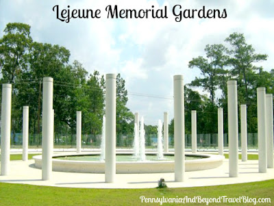Lejeune Memorial Gardens in Jacksonville North Carolina