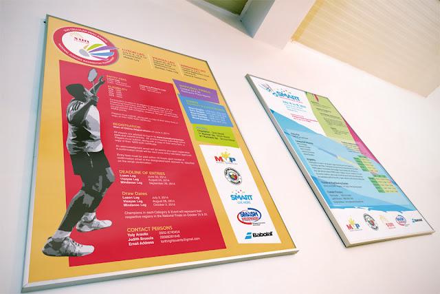 Sun Cellular-Ming Ramos National Juniors Badminton Tournament poster