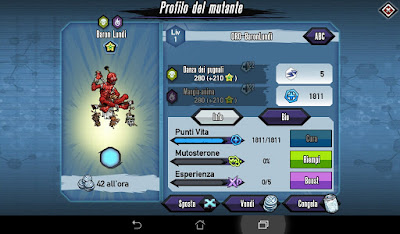Mutants: Genetic Gladiators Breeding video N°97 (Leech Lord - Pit Lord)