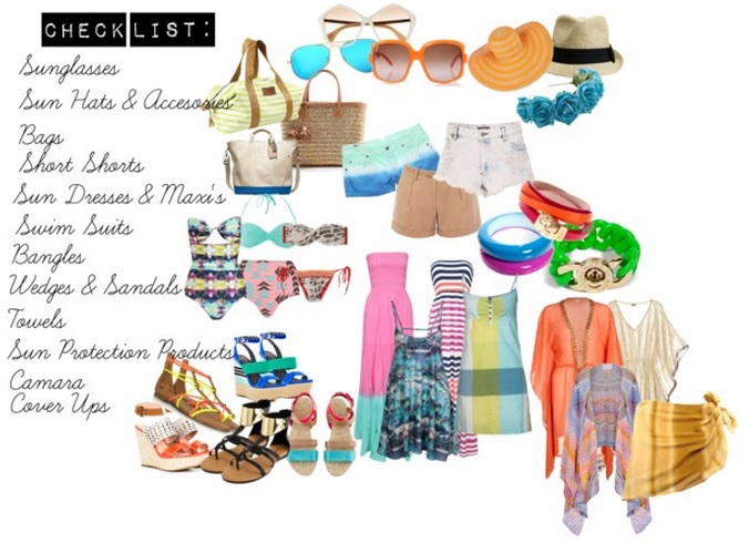 Jolie  Doux Summer Vacation Checklist! - summer vacation checklist