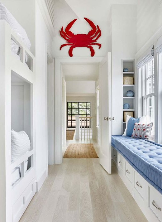 Large Red Crab Wall Art