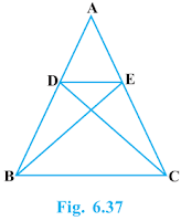 Triangles Exercise 6.3 Question No. 6