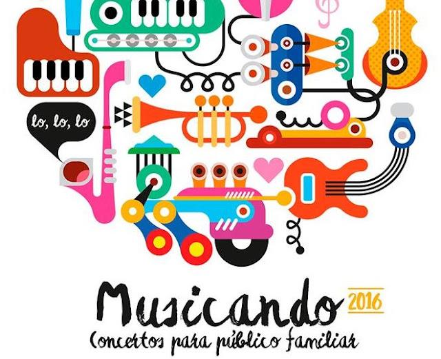 """""""Musicando 2016"""". Concertos para público familiar."""