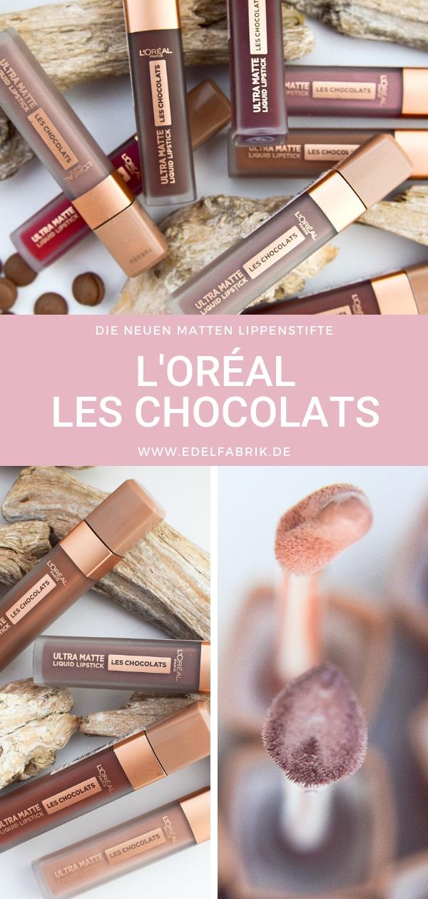 L'Oreál Paris Les Chocolats Swatches, Testbericht