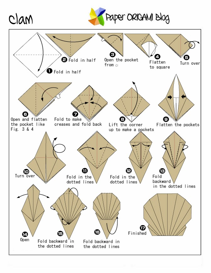 How To Make Origami Sea Animals