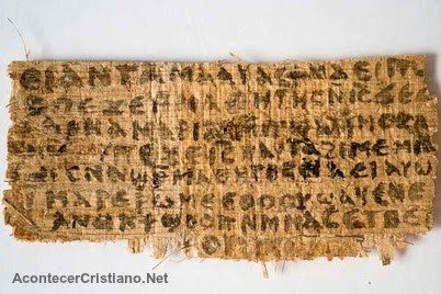 Papiro del Evangelio de la Esposa de Jesús