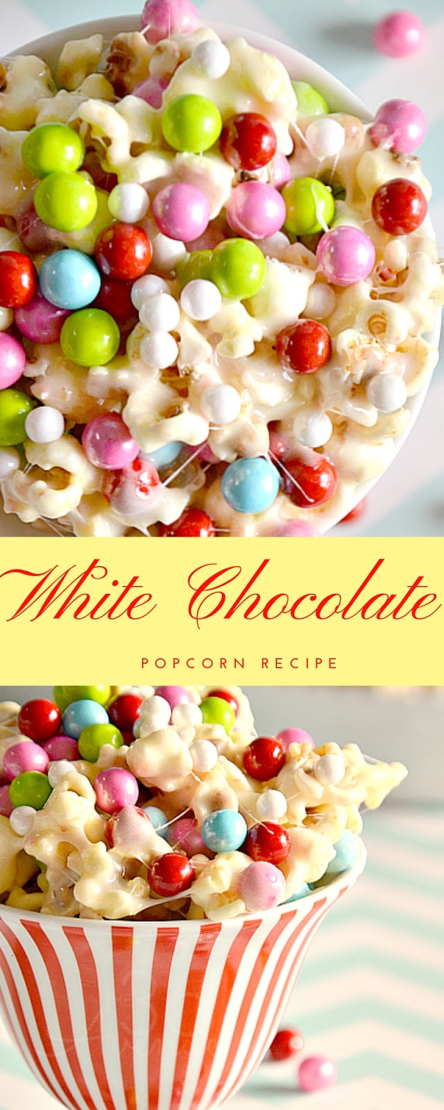 Christmas Popcorn Recipes.White Chocolate Popcorn Recipe Christmas Snacks