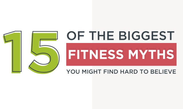 15 of the biggest fitness myths you might find hard to believe