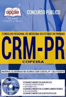 Baixar Apostila Concurso CRM DF 2018 PDF Grátis