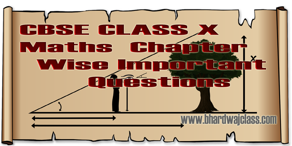 CBSE Class 10 Maths Important questions