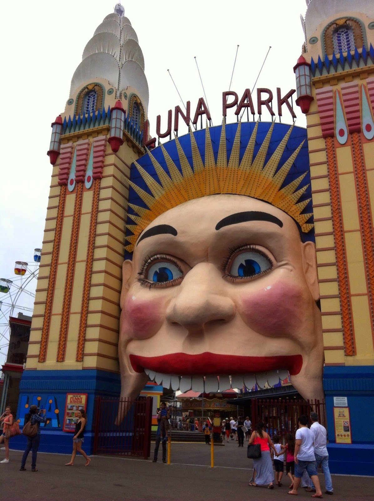 Luna Park Sydney Australia Secret Spices Travel