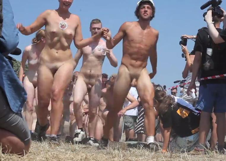 Naked women with stretched holes