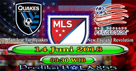 Prediksi Bola855 San Jose Earthquakes vs New England Revolution 14 Juni 2018
