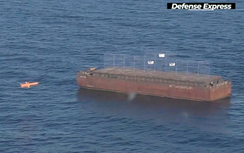 З'явилось відео влучення Нептуна по мішені