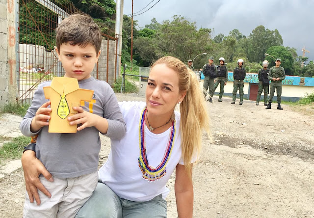 Impiden visita de hijos de Leopoldo Lopez e el día del padre