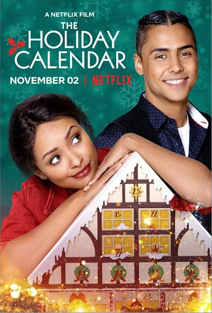 The Holiday Calendar 2018 Netflix movie poster Kat Graham Quincy Brown