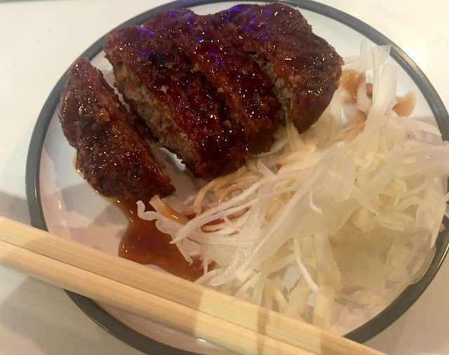 Yo Sushi Fruity Beef Katsu dish