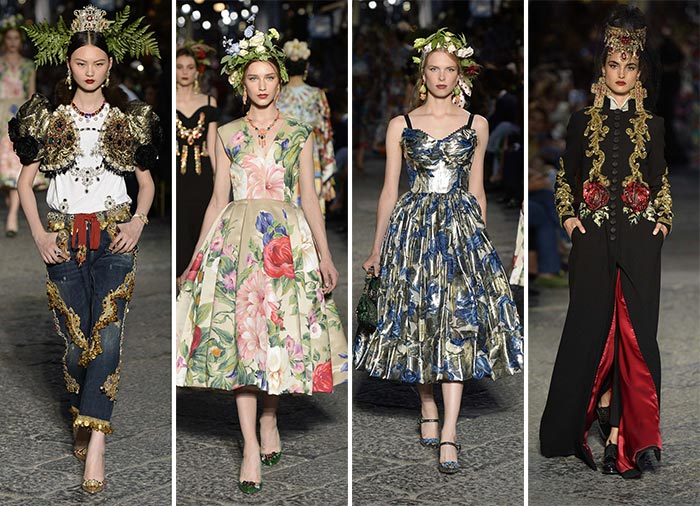 Dolce & Gabbana Alta Moda Fall 2016 Couture