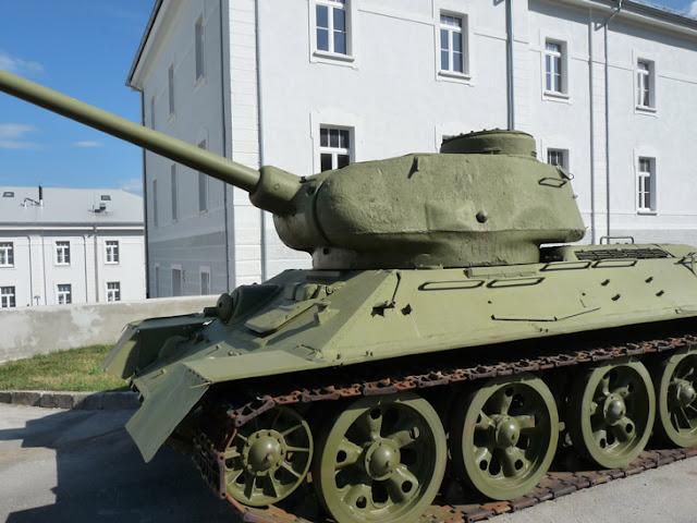 Tanque en el Museo de Historia Militar de Eslovenia