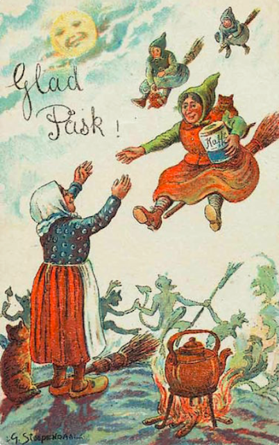 http://www.collectorsweekly.com/articles/happy-easter-here-come-the-witches/