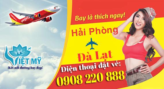 Giá vé máy bay Đà Lạt đi Hải Phòng