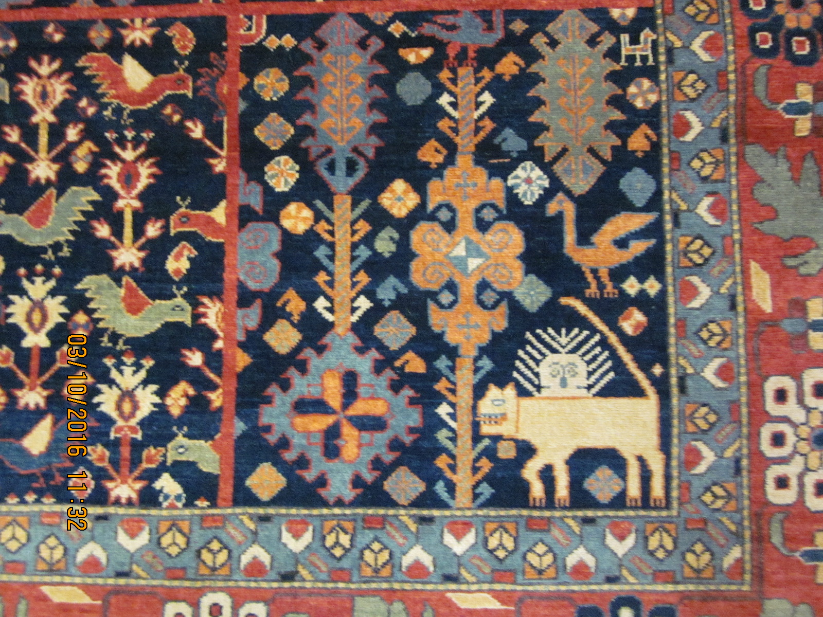 video of afghan rugs in persian tribal designs hereu0027s a clue the first three photos here are of a small piece in a qashqai design