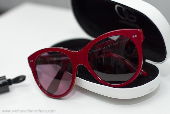 Las gafas de sol que llevaba Audrey Hepburn en Tiffany's en la película Desayuno con diamantes