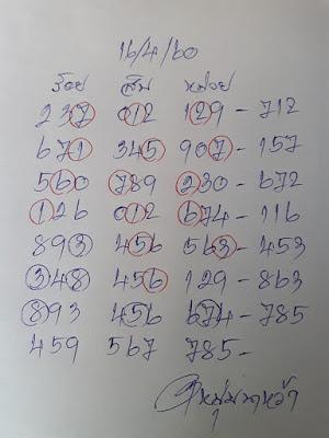 เลขเด่นหลักร้อย  4  5  9  เด่นหลักสิบ  5  6  7  เลขเด่นหลักหน่วย  7  8  5