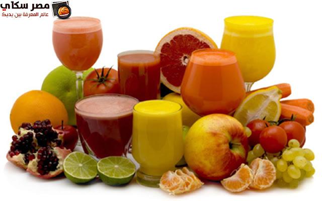 فوائد المشروبات والأطعمة قليلة السكرA few sugar drinks