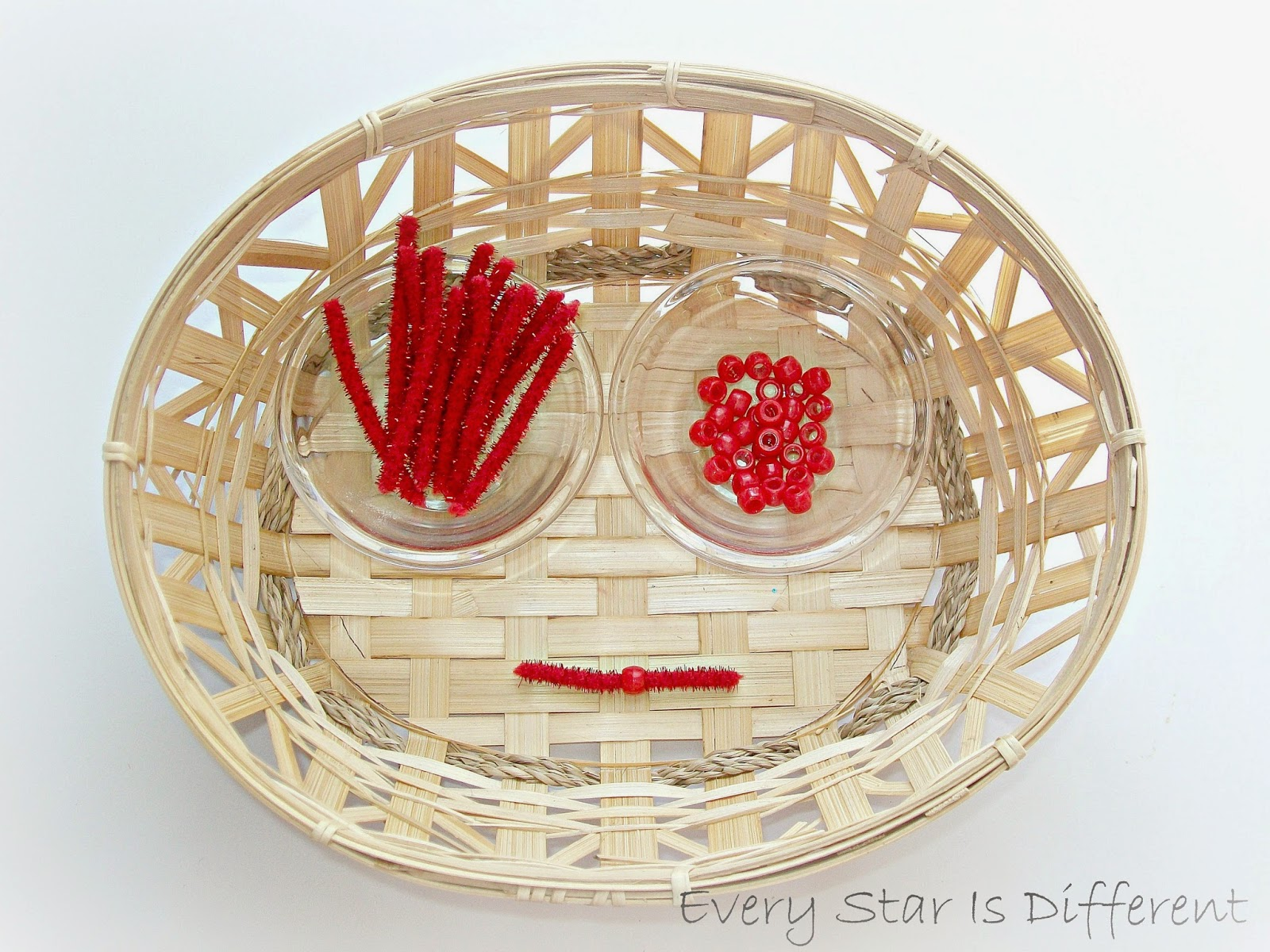 Making Montessori Red Bead Bars for Kids