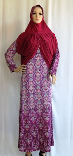 Busana Muslim Wanita Cantik GKM4689