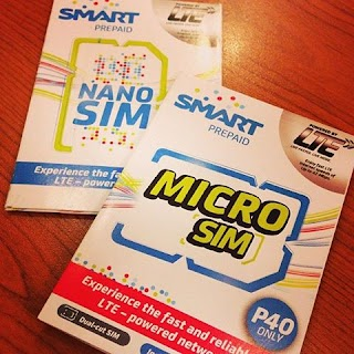 Smart fourth-generation (4G)  LTE  capable Prepaid Sim card  available at the price of 40 pesos