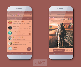 Astronaut Theme For YOWhatsApp & Fouad WhatsApp By Jako