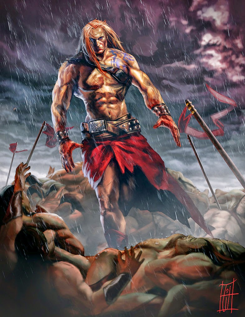 Dragonsfaerieselvestheunseen Cuchulainn The Celtic God The