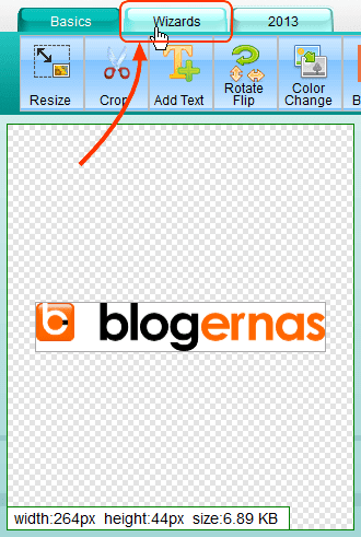 Menjadikan Latar Belakang Gambar Transparant di Online Image Editor