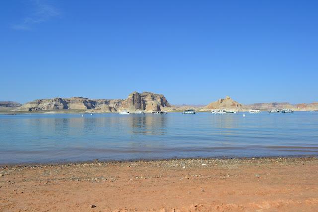 Озеро Пауэлл, Аризона (Lake Powell, Arizona)