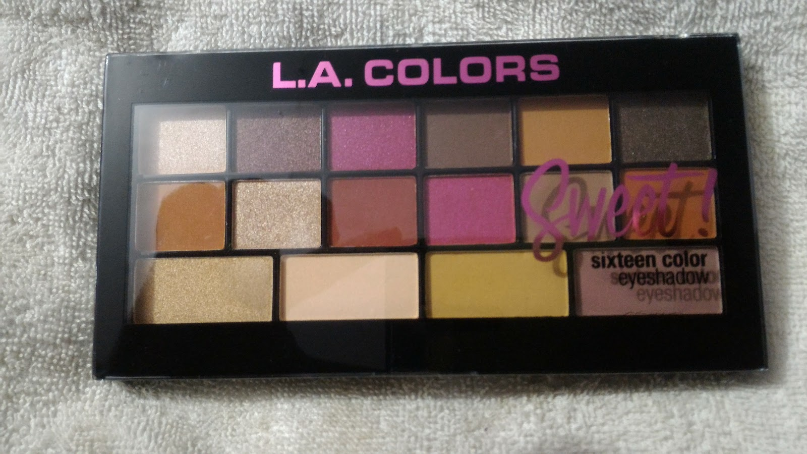 Js Mind Palace Product Review La Colors Sweet 16 Eyeshadow Palette