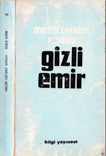 Melih Cevdet Anday - Bütün Eserleri 10 - Gizli Emir