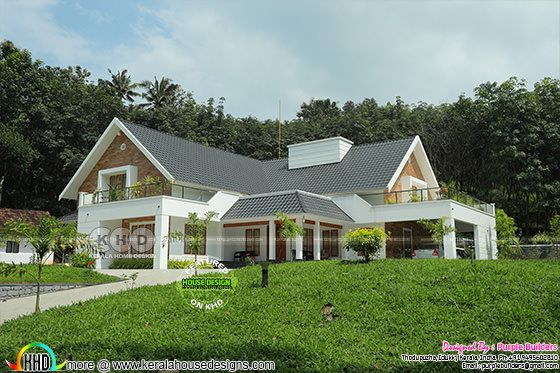 Awesome construction finished home at Pala with interiors