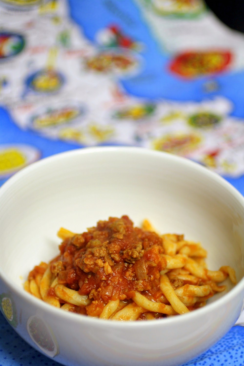 This recipe for ragu comes all the way from an Italian kitchen in the Emilio-Romagnia region.  Using only a few simple ingredients it is rich, filling and surprisingly easy!