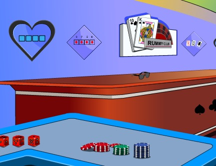EscapeGamesZone Escape From Rummy Club Walkthrough