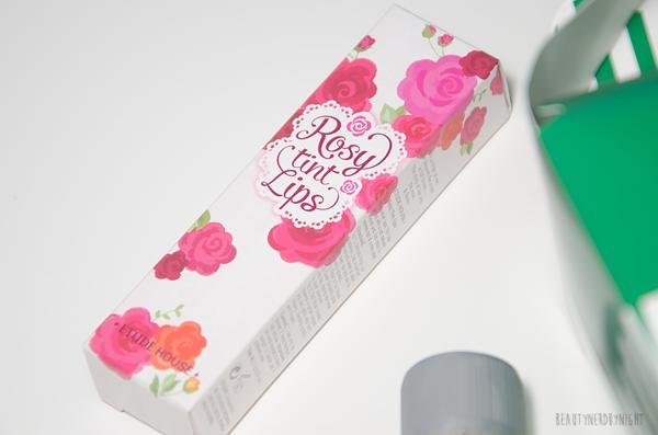 Beauty Haul, Etude House, Rosy Tint Lips