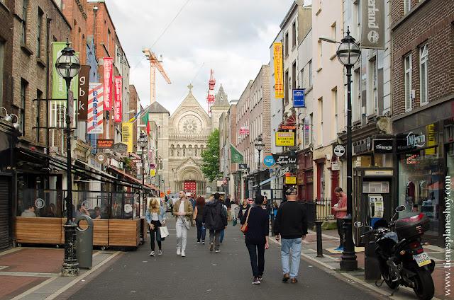 Calles Dublin viaje Irlanda