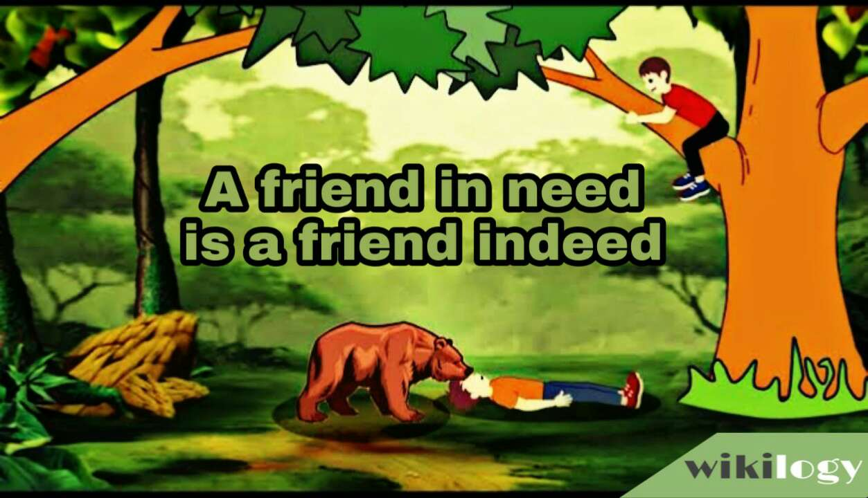 a friend in need is a friend indeed story of two friends