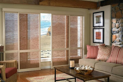 rustic window blinds